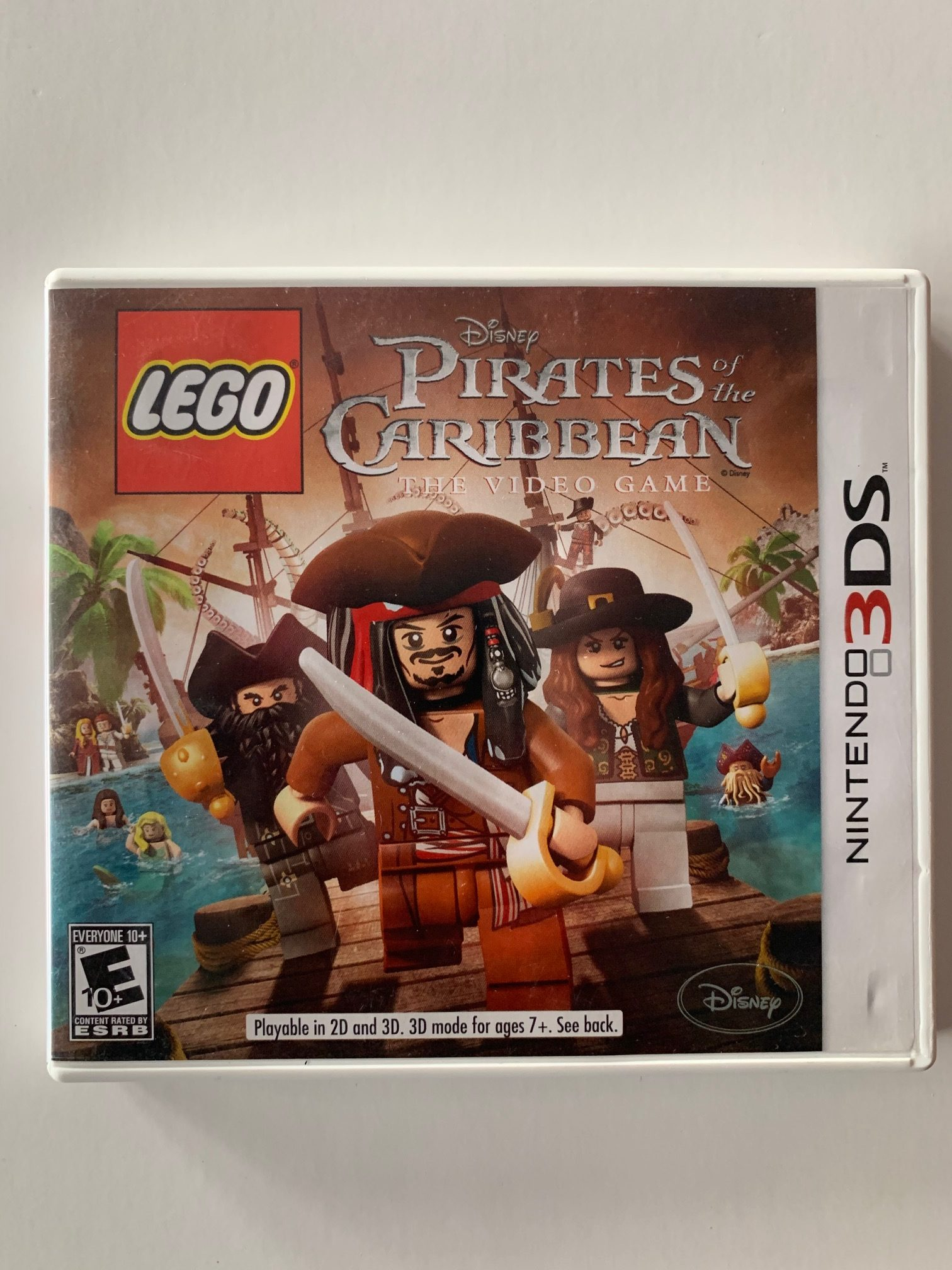 Lego Pirates Of The Caribbean CIB