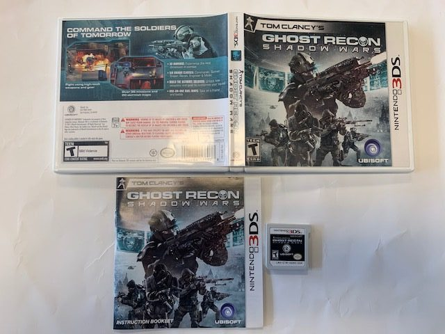 Tom Clancy's Ghost Recon Shadow Wars CIB