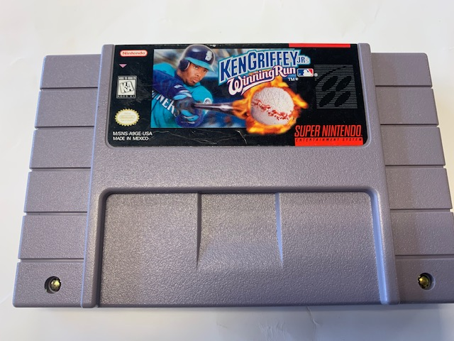 Ken Griffey Jr Winning Run
