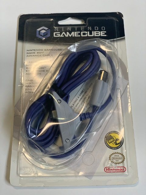 Official Nintendo Gamecube Gameboy Advance Link Cable NEW