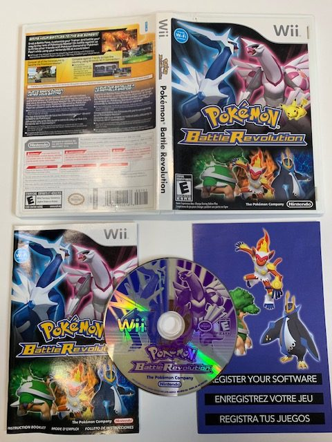 Pokemon Battle Revolution CIB