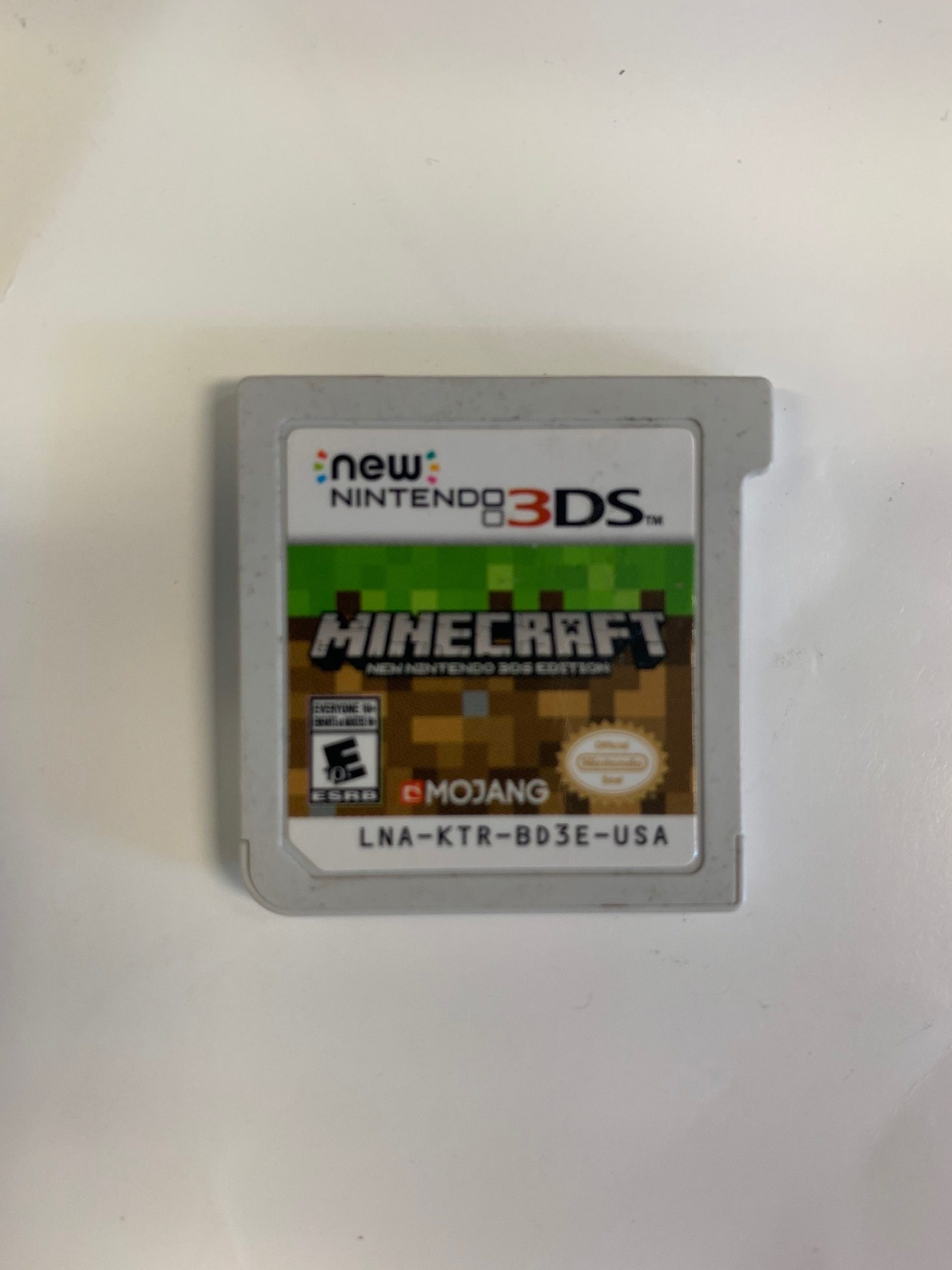 Minecraft New Nintendo 3ds