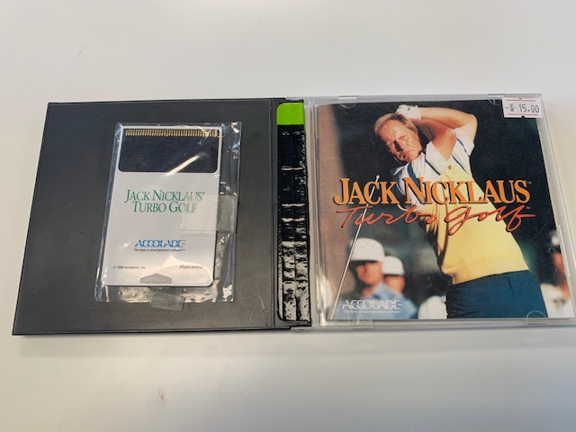 Jack Nicklaus Turbo Golf CIB