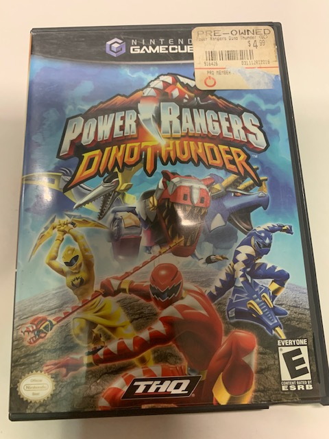 Power Rangers Dino Thunder CIB