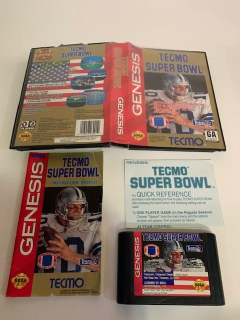 Tecmo Super Bowl CIB