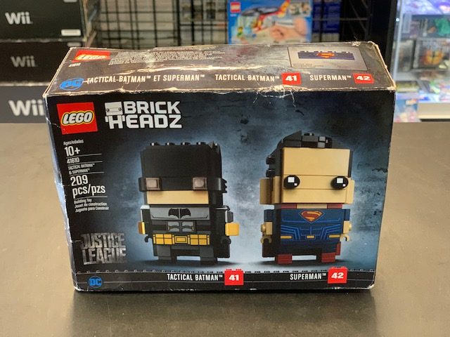 LEGO BrickHeadz #41/42 41610 Tactical Batman & Superman (209 Pieces) NEW