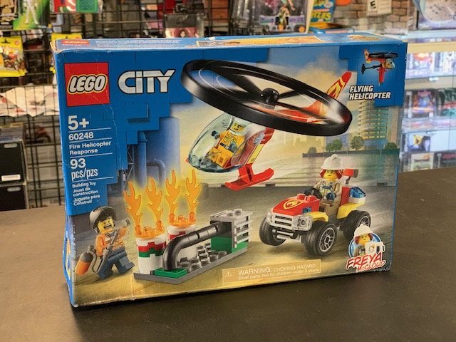 Lego City Fire Helicopter Response 60248 – NEW 93 Pieces
