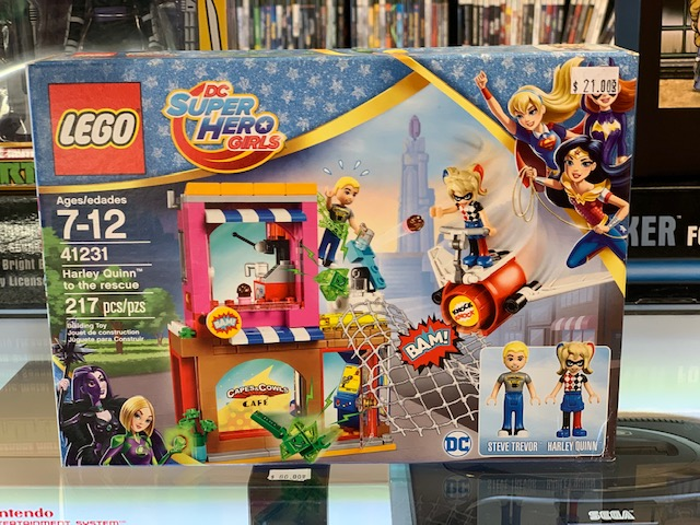 DC Super Hero Girls Toys Lego Harley Quinn To The Rescue 217 PC 41231 NEW