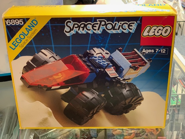 LEGO LEGOLAND Space Police (Set # 6895) Flawless And Complete W/ Box And Manual!