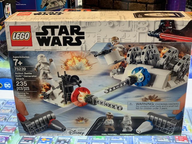 LEGO Star Wars: Action Battle Hoth Generator Attack NEW