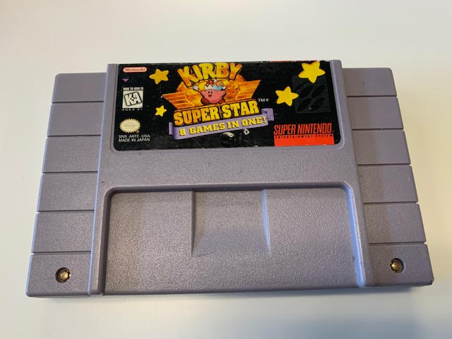 Kriby Super Star 8 Games In One!