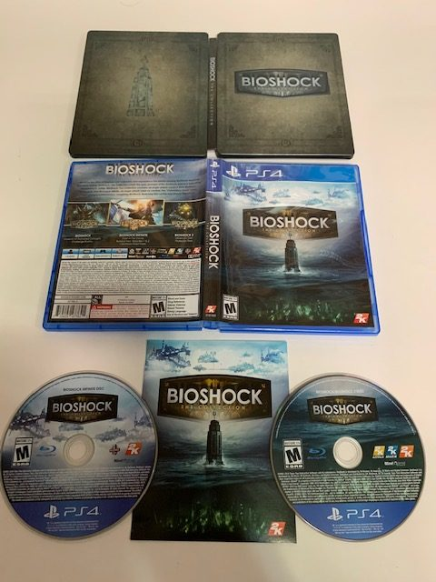 BioShock: The Collection Steelbook With Game