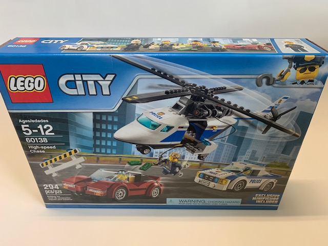 Lego High-Speed Chase 60138 NEW
