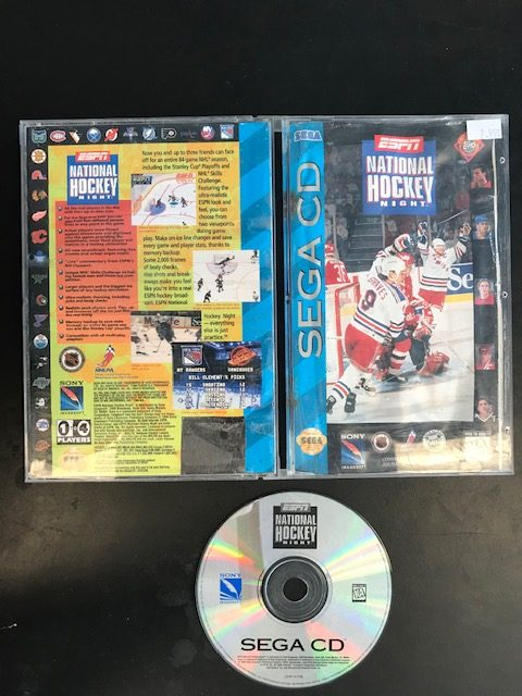 National Hockey Night Sega CD CIB