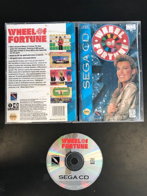 Wheel Of Fortune Sega CD CIB
