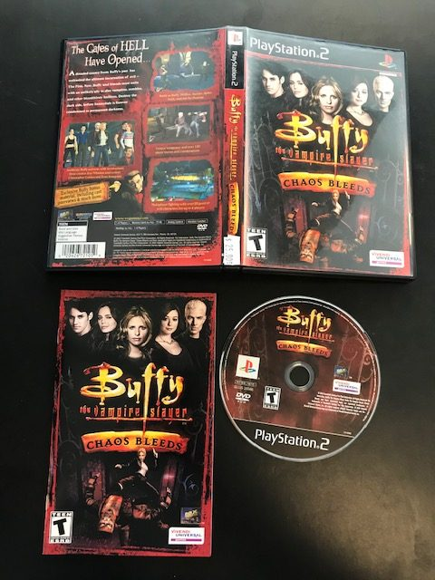 Buffy The Vampire Slayer Chaos Bleeds CIB