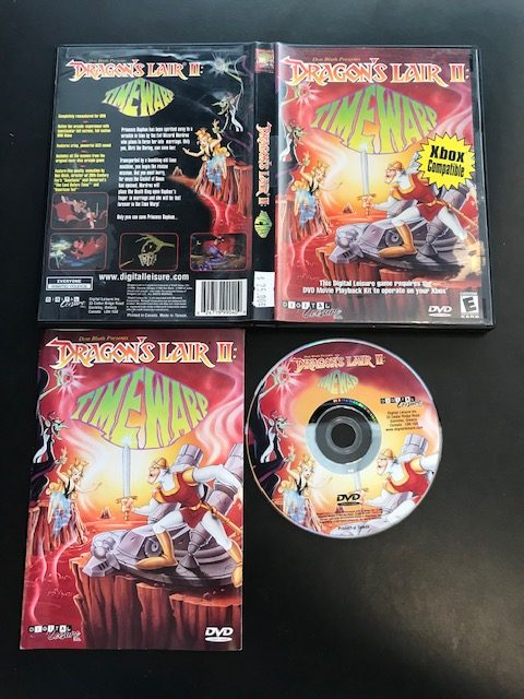 Dragon's Lair II Time Warp CIB