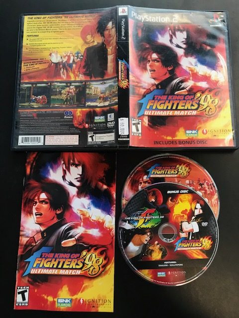 The King Of Fighters 98 Ultimate Match CIB