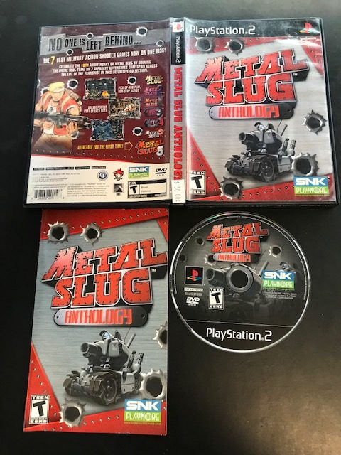 Metal Slug Anthology CIB