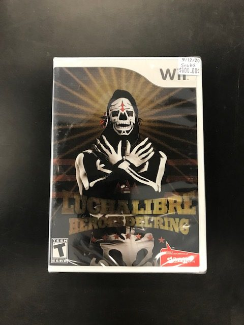 Lucha Libre Heroes Del Ring Wii SEALED