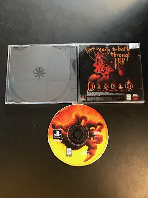Diablo PS1 Disc Only