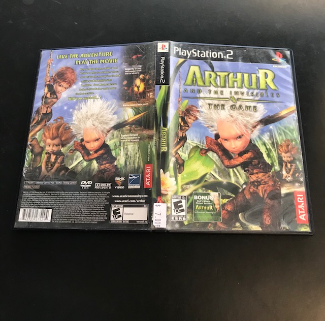 Arthur And The Invisibles The Game CB