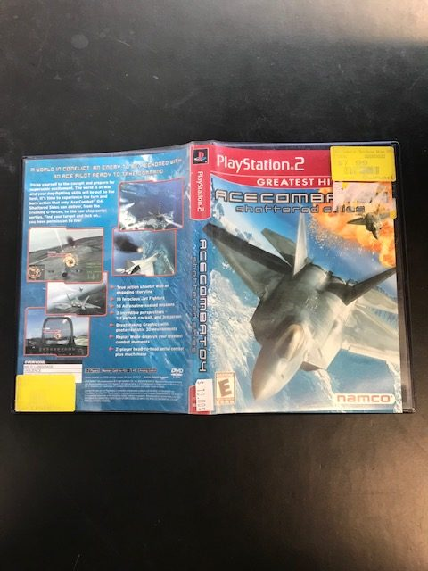 Ace Combat 04 Shattered Skies CIB Greatest Hits