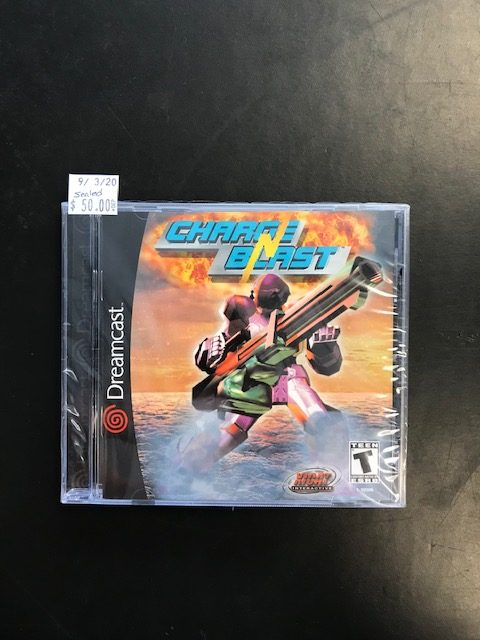 Charge & Blast Dreamcast Sealed