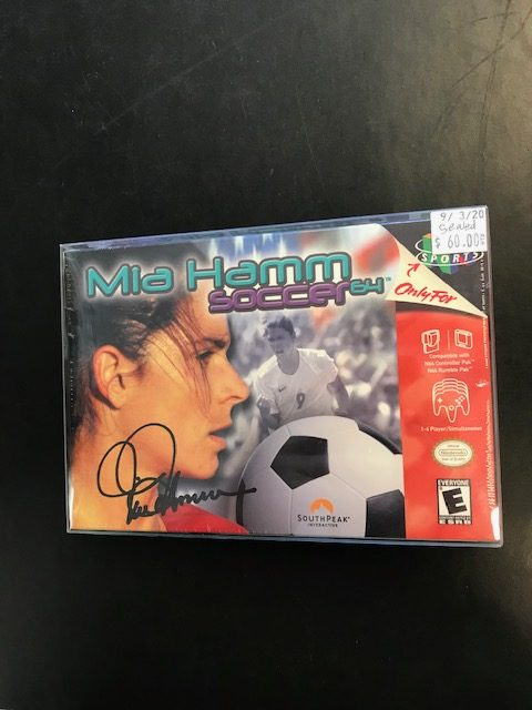 Mia Hamm Soccer 64 Sealed