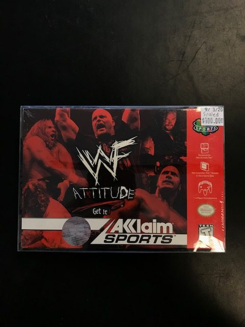 WWF Attitude Get It N64 Sealed