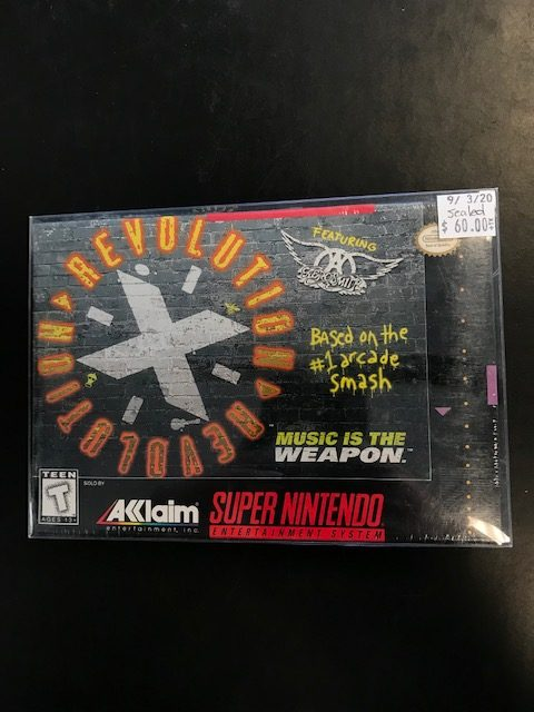 Revolution X Sealed