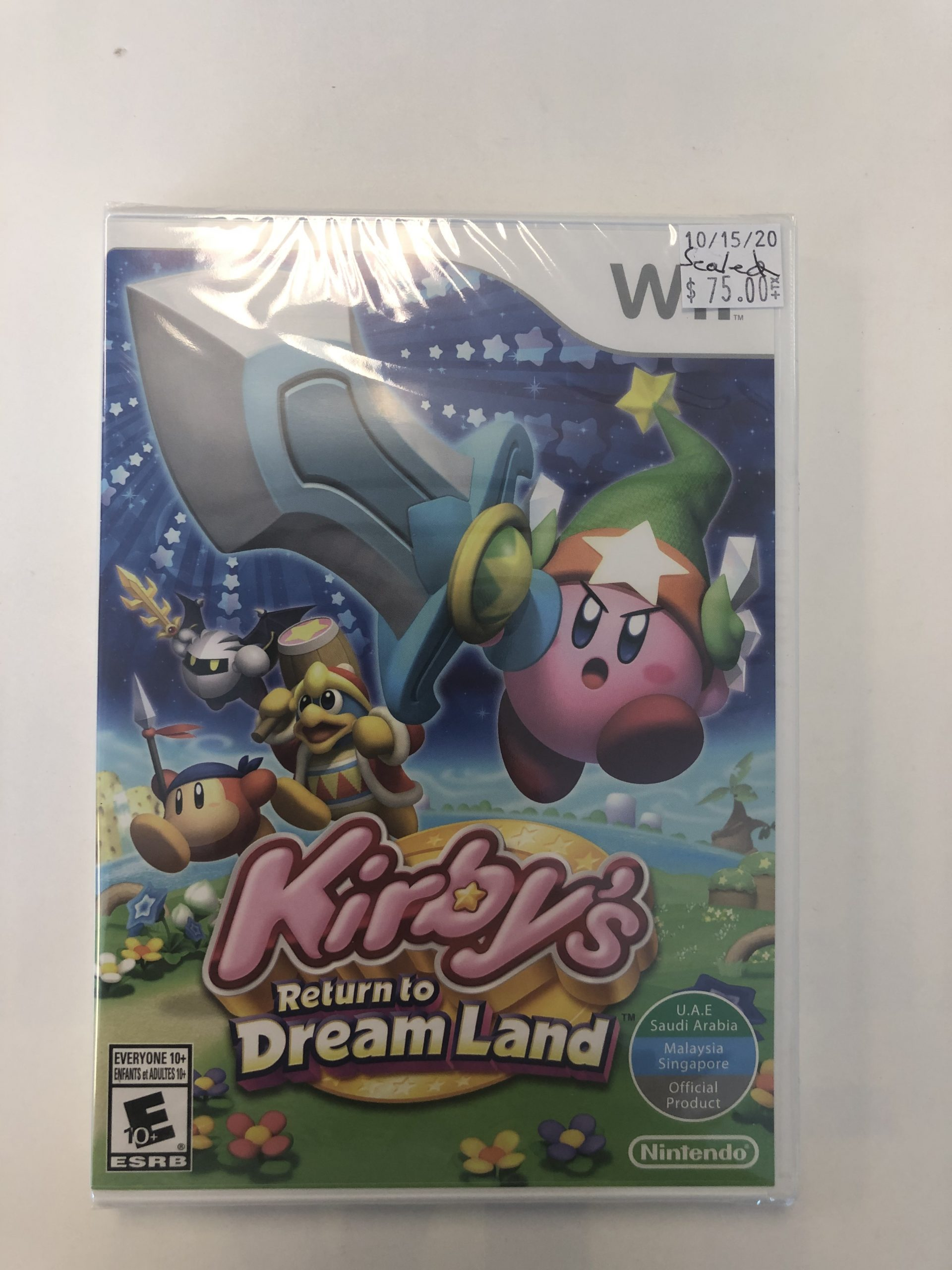 SEALED Kirby Return To Dream Land Wii