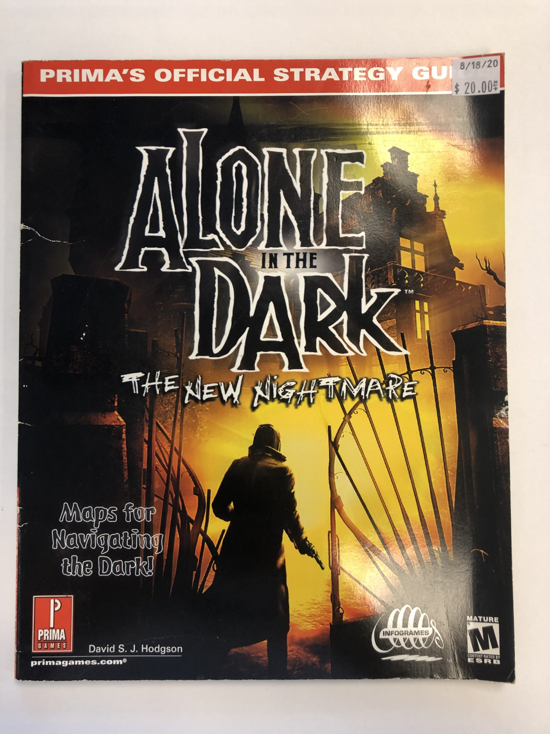 Alone In The Dark The New Nightmare Guide Book