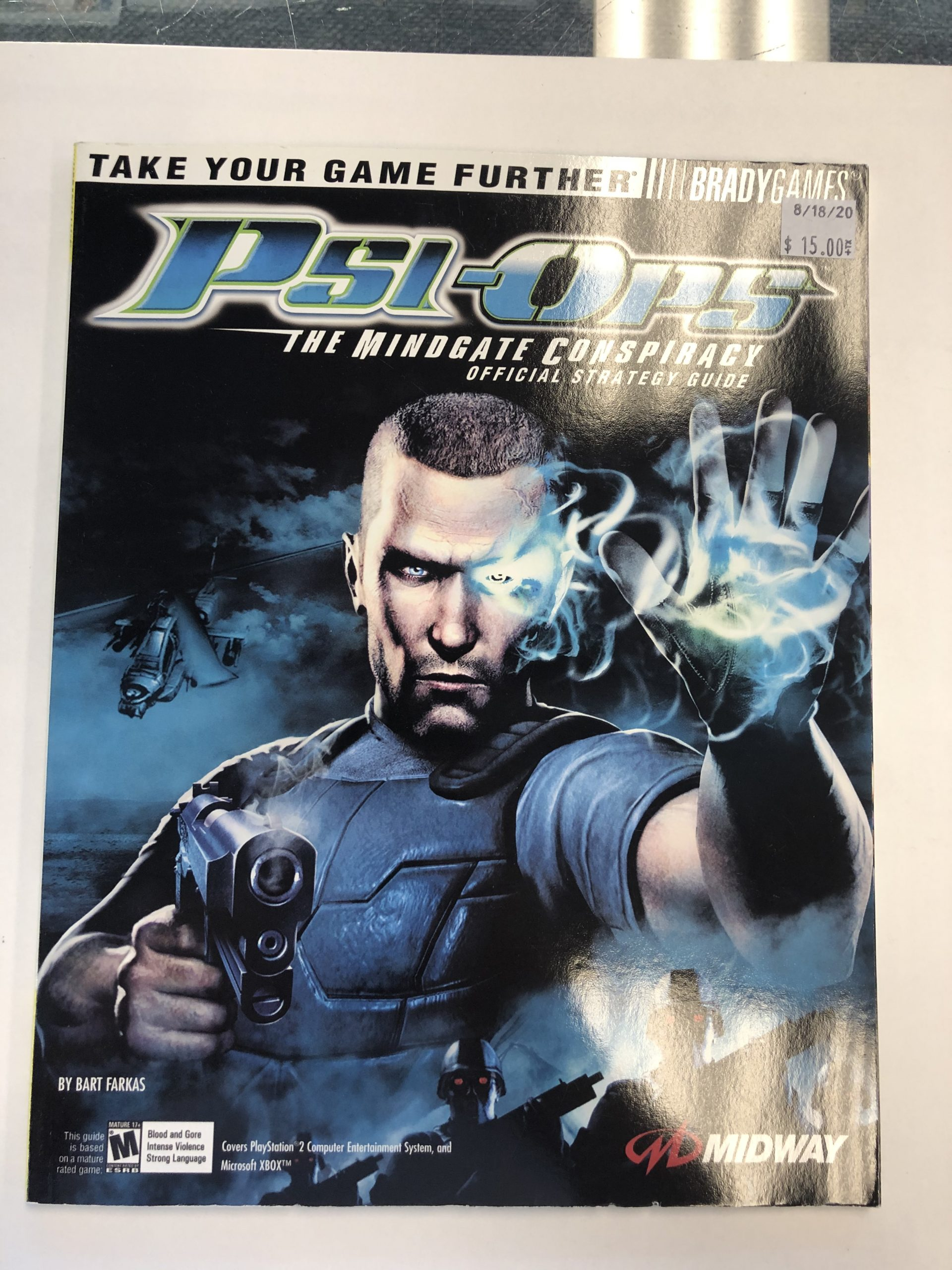 Psi-Ops Guide Book