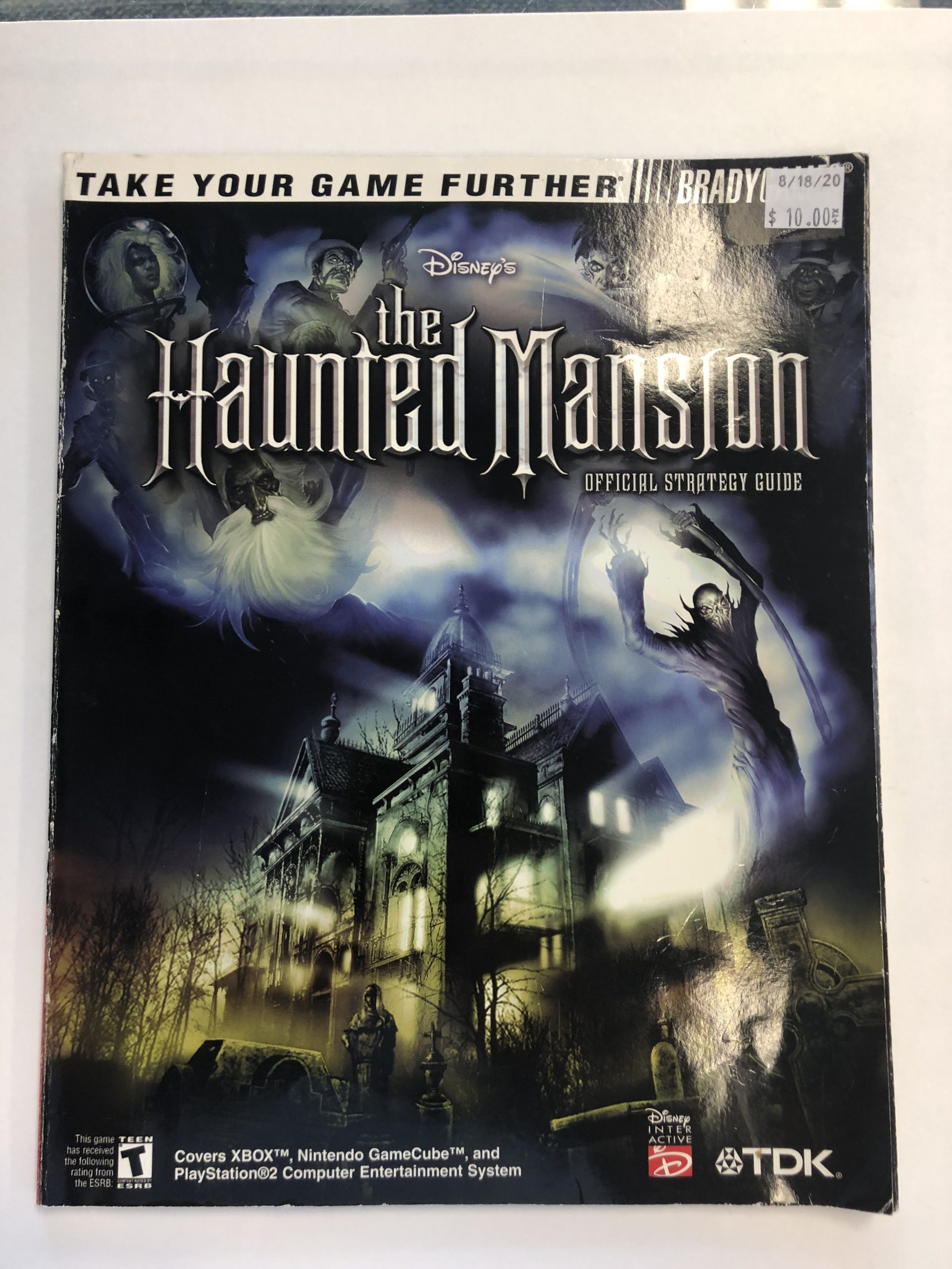 The Haunted Mansion Guide Book