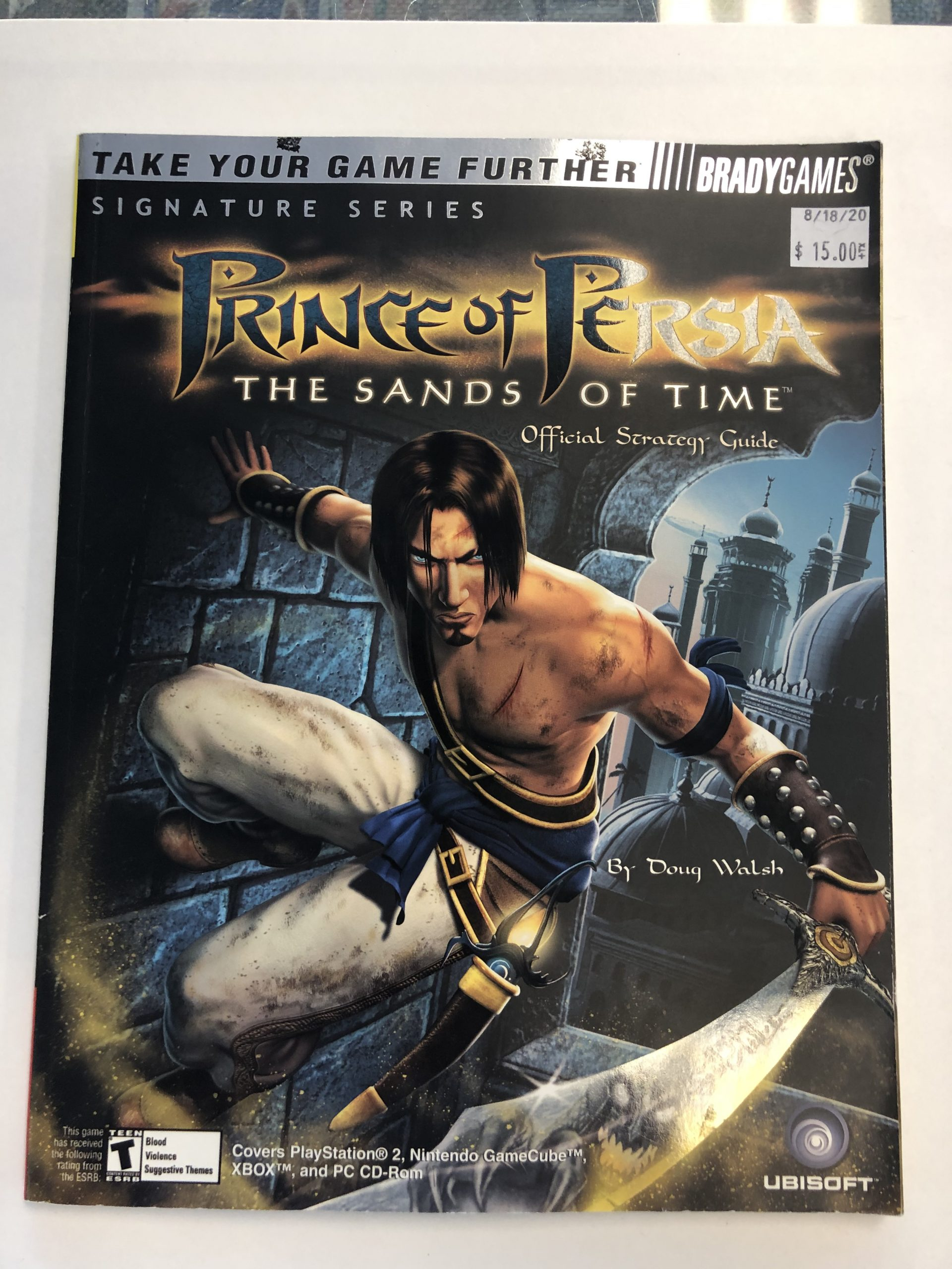 Prince Of Persia The Sands Of Time Guide Book