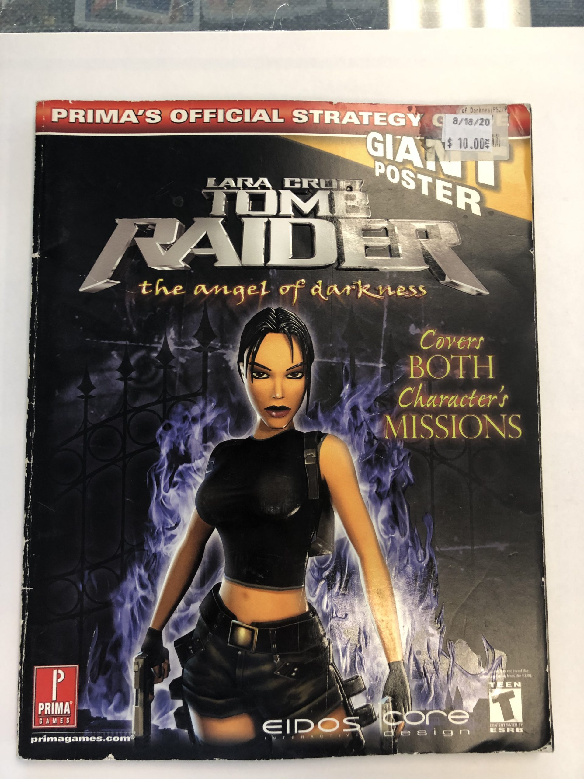 Tomb Raider Angel Of Darkness Guide Book