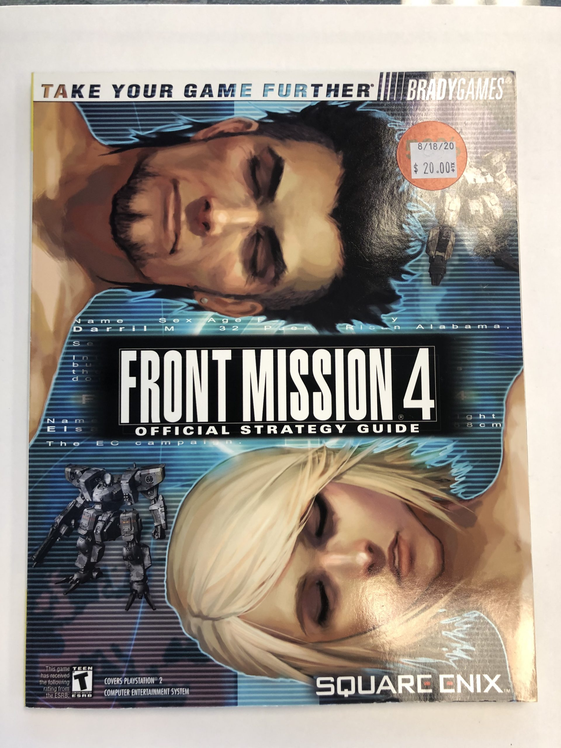 Front Mission 4 Guide Book