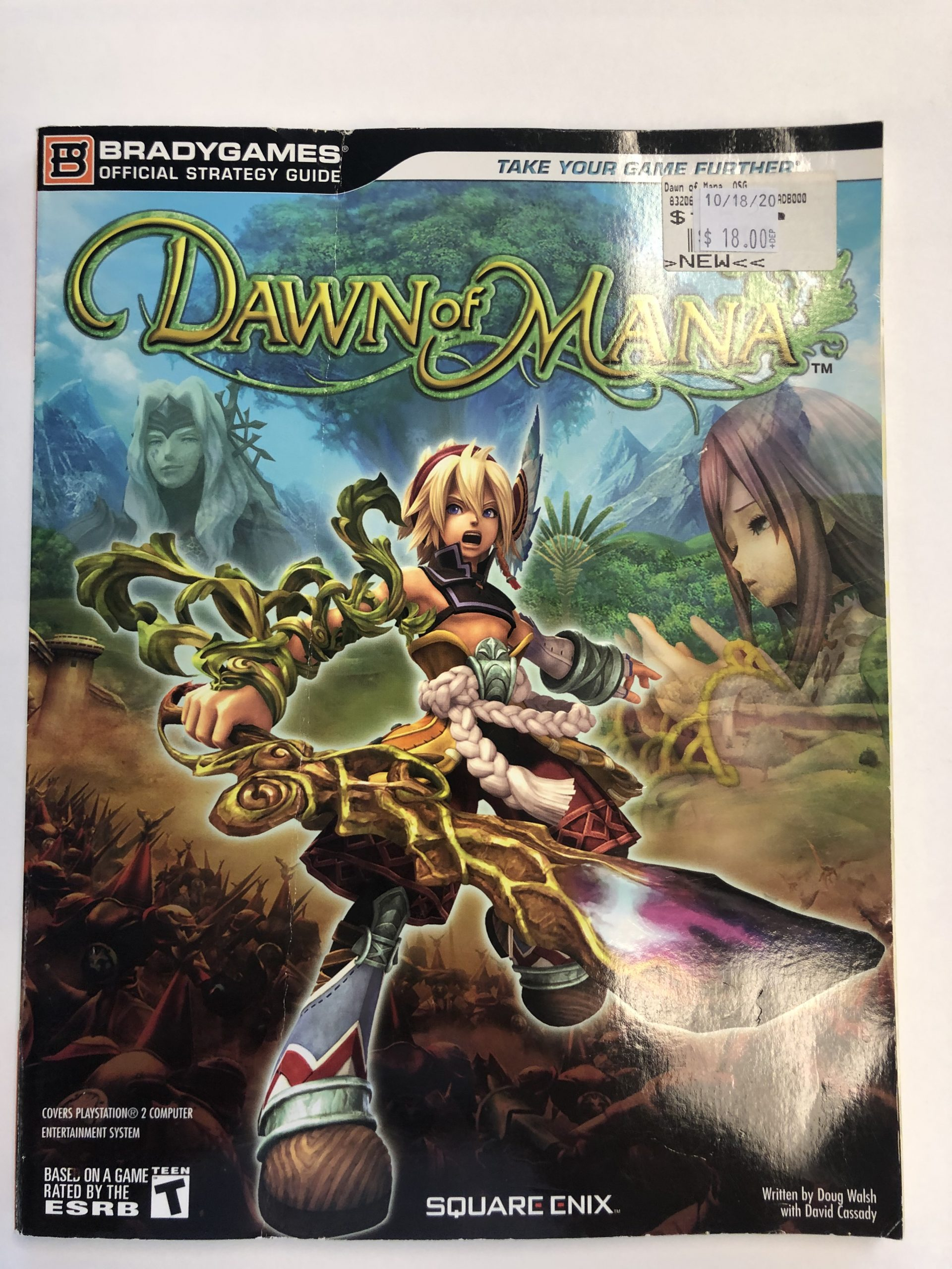 Dawn Of Mana Guide Book