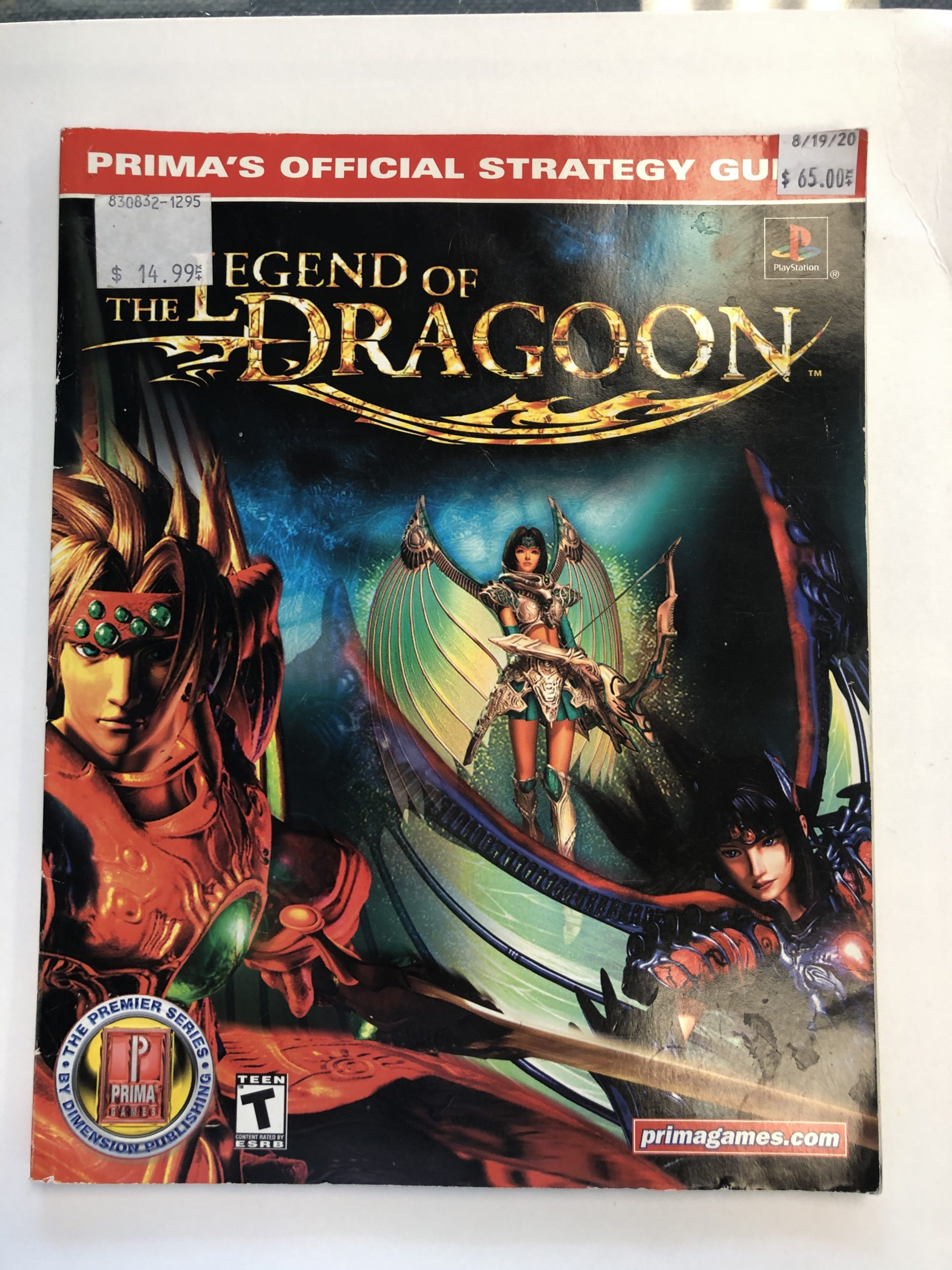 Legend Of The Dragon Guide Book