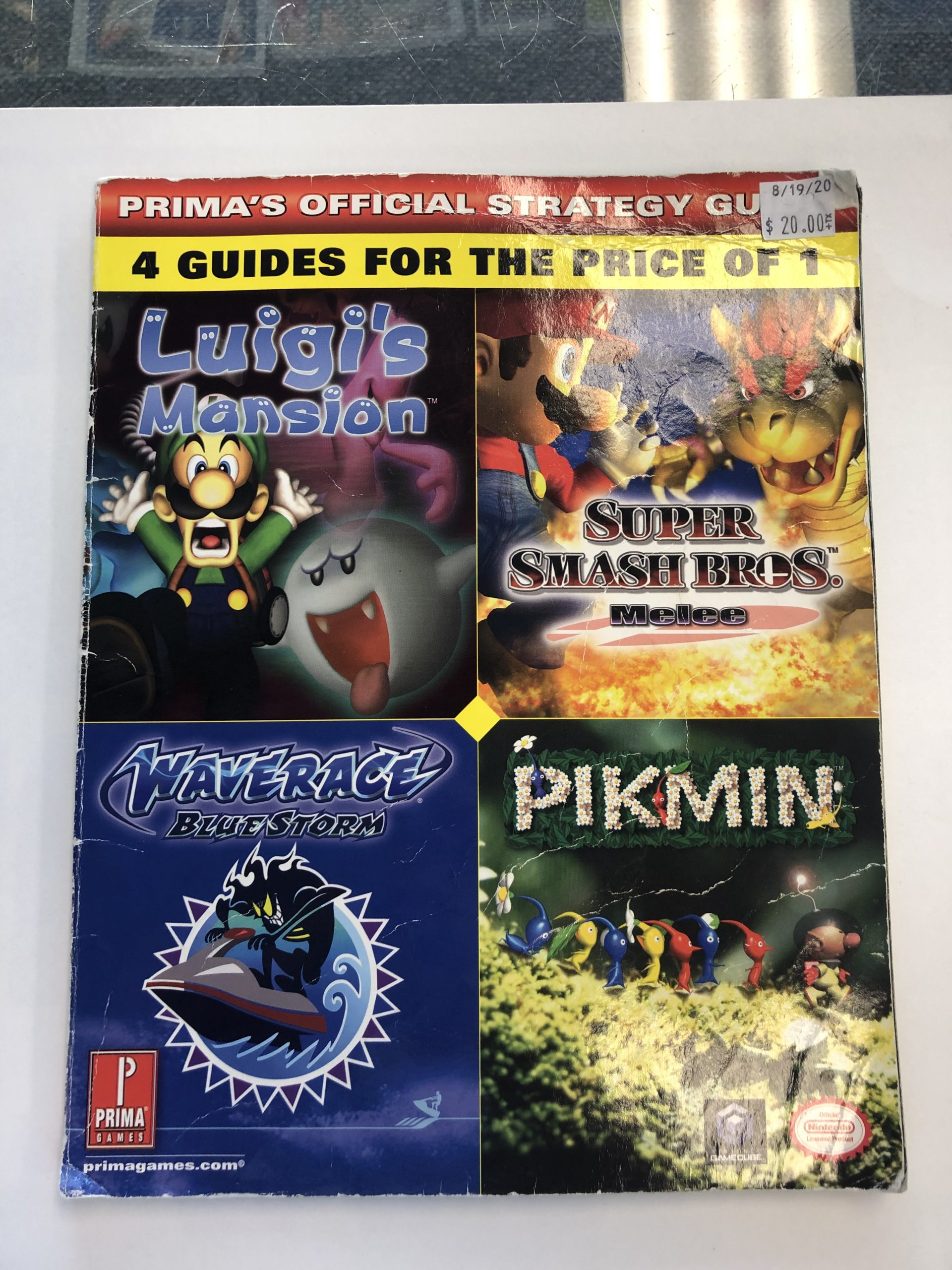 4 Guides In 1 Guide Book