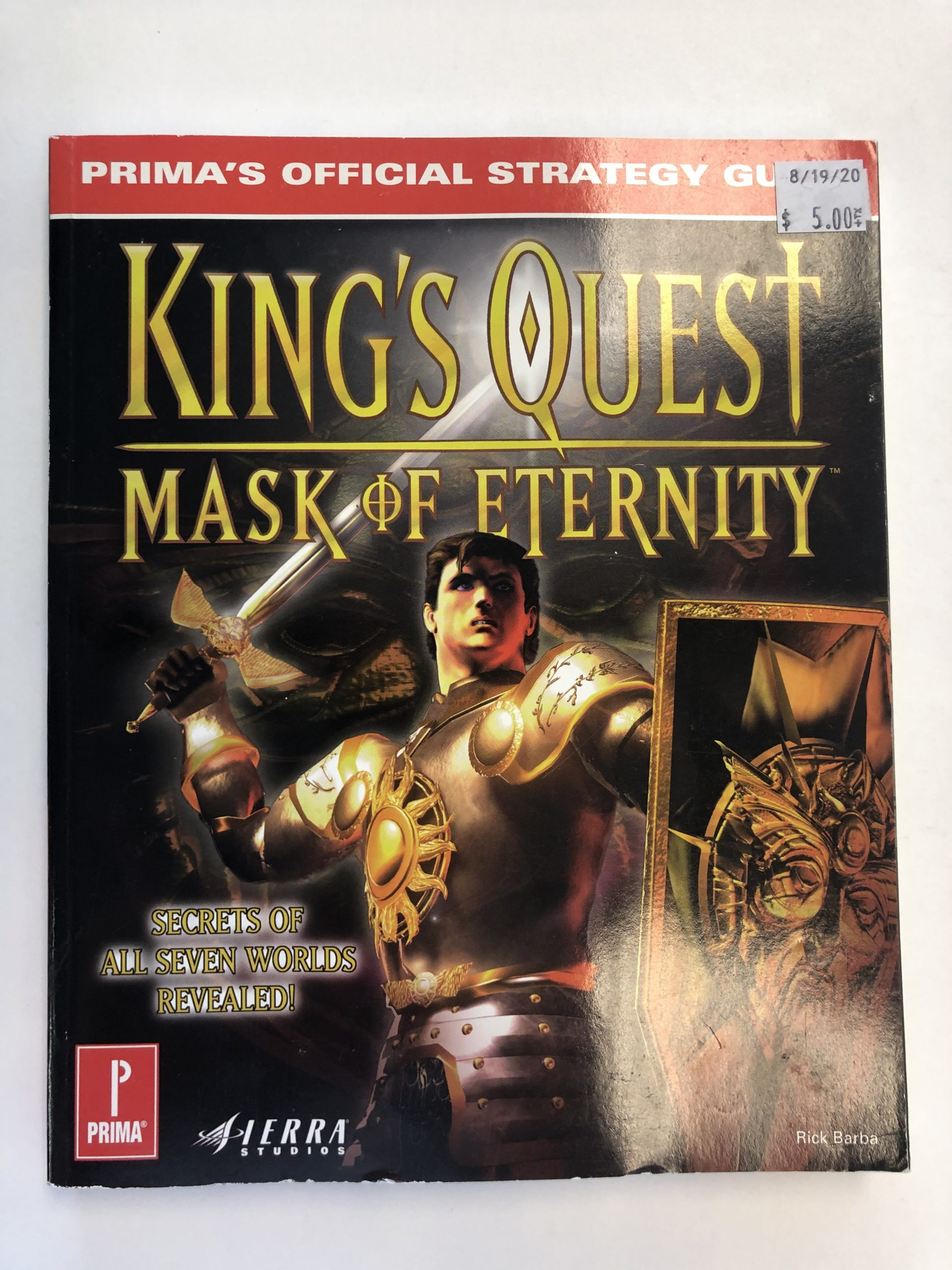King's Quest Mask Of Eternity Guide Book