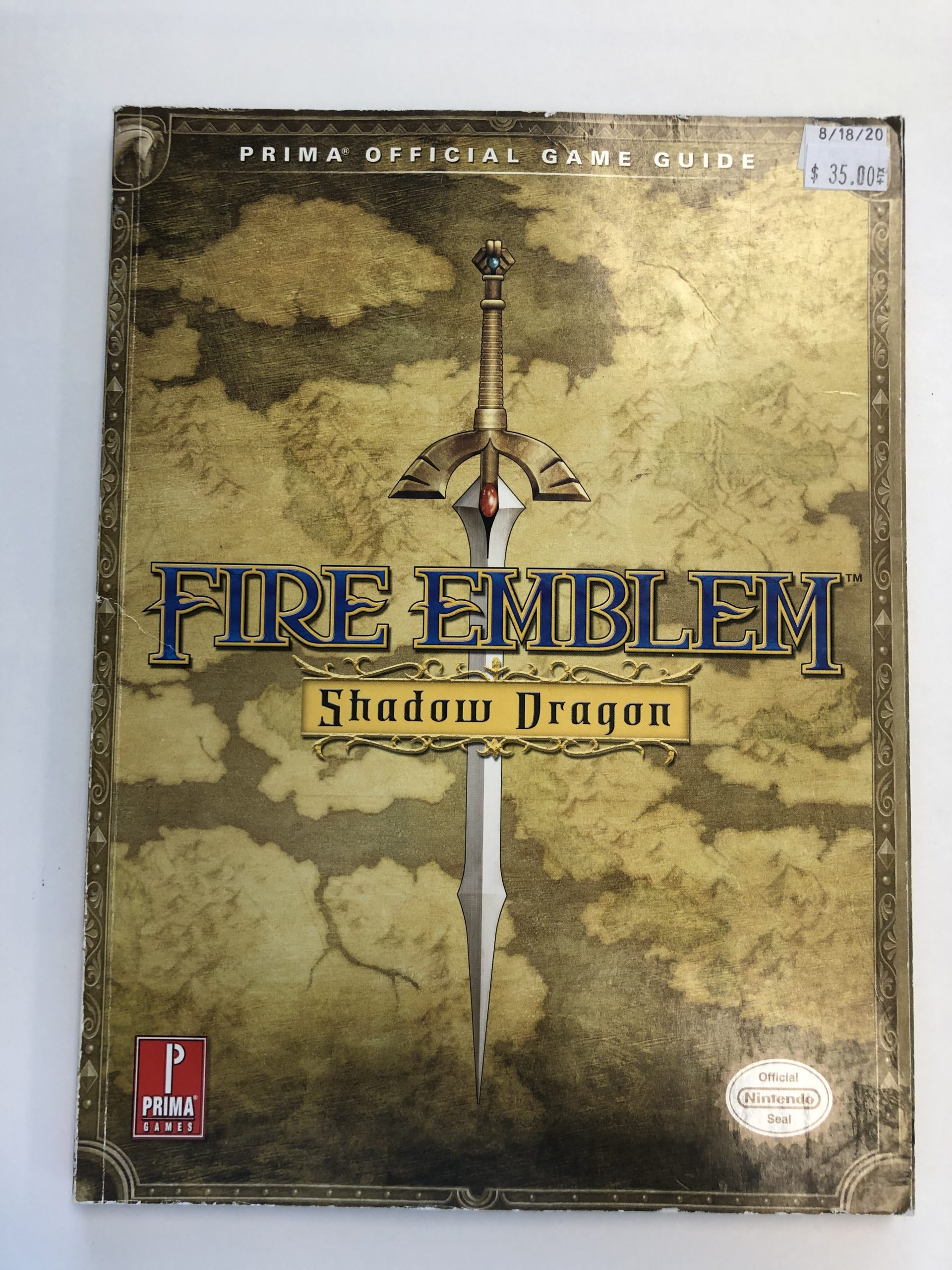 Fire Emblem Shadow Dragon Guide Book