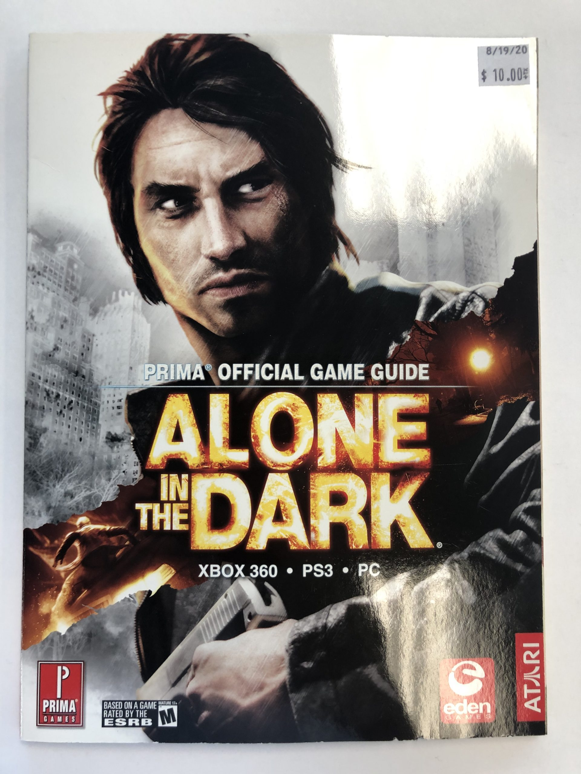Alone In The Dark Guide Book