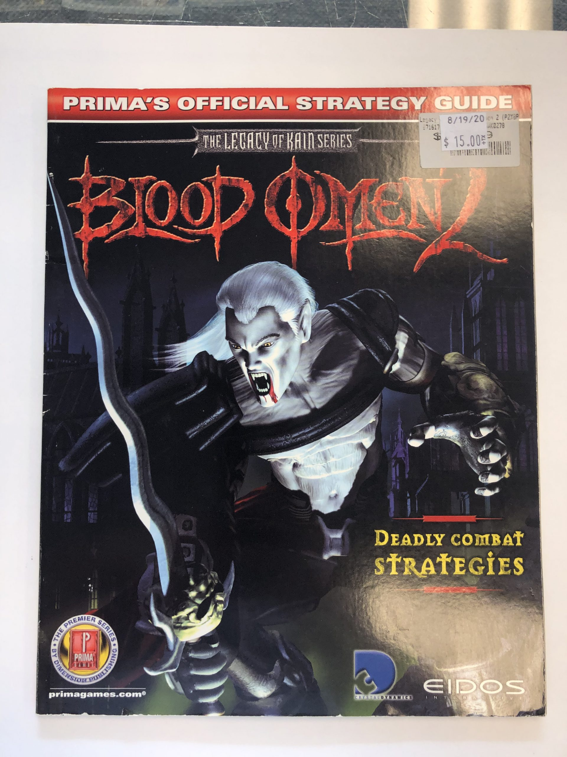 Blood Omen 2 Guide Book