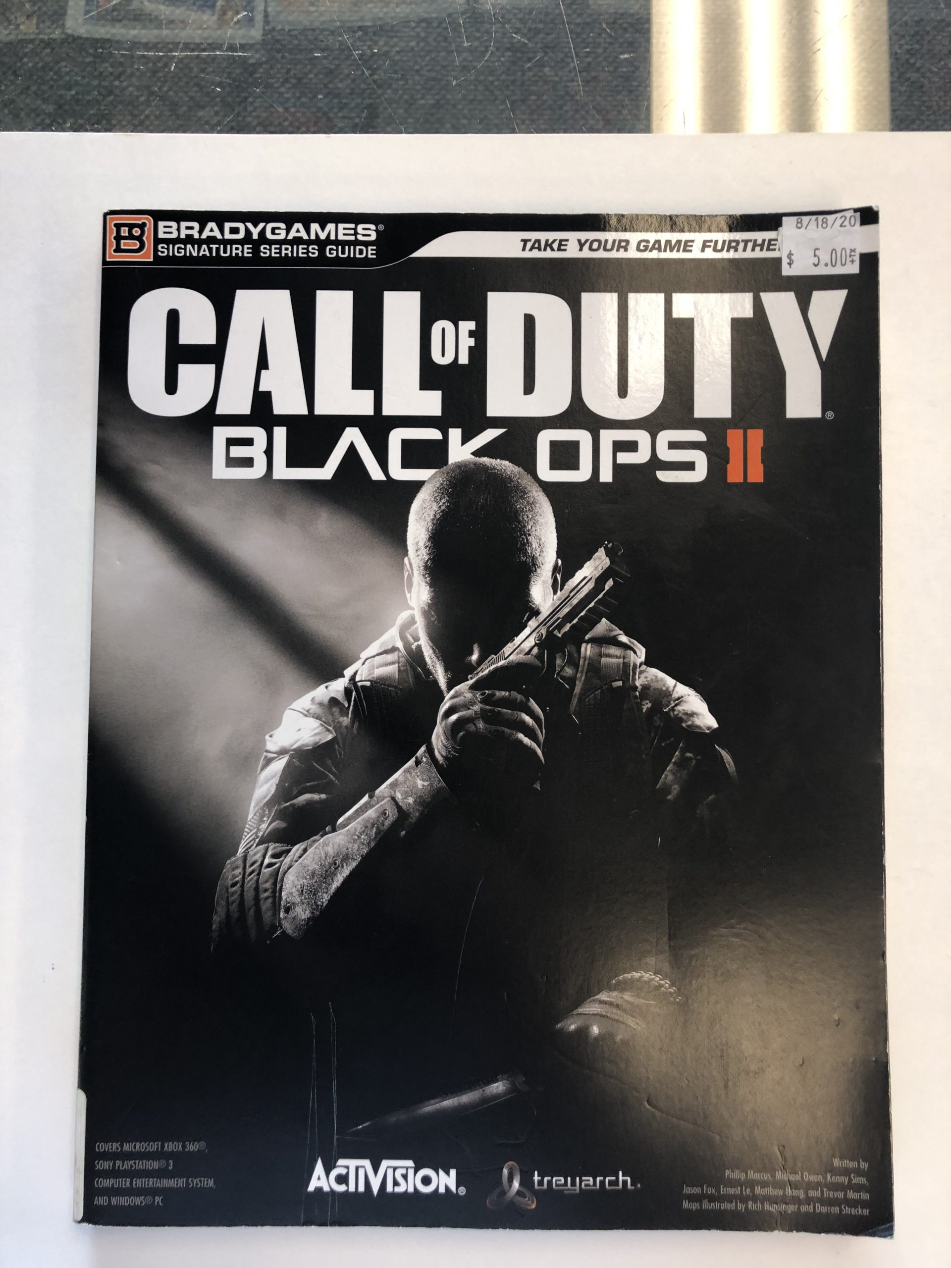 Call Of Duty Black Ops 2 Guide Book