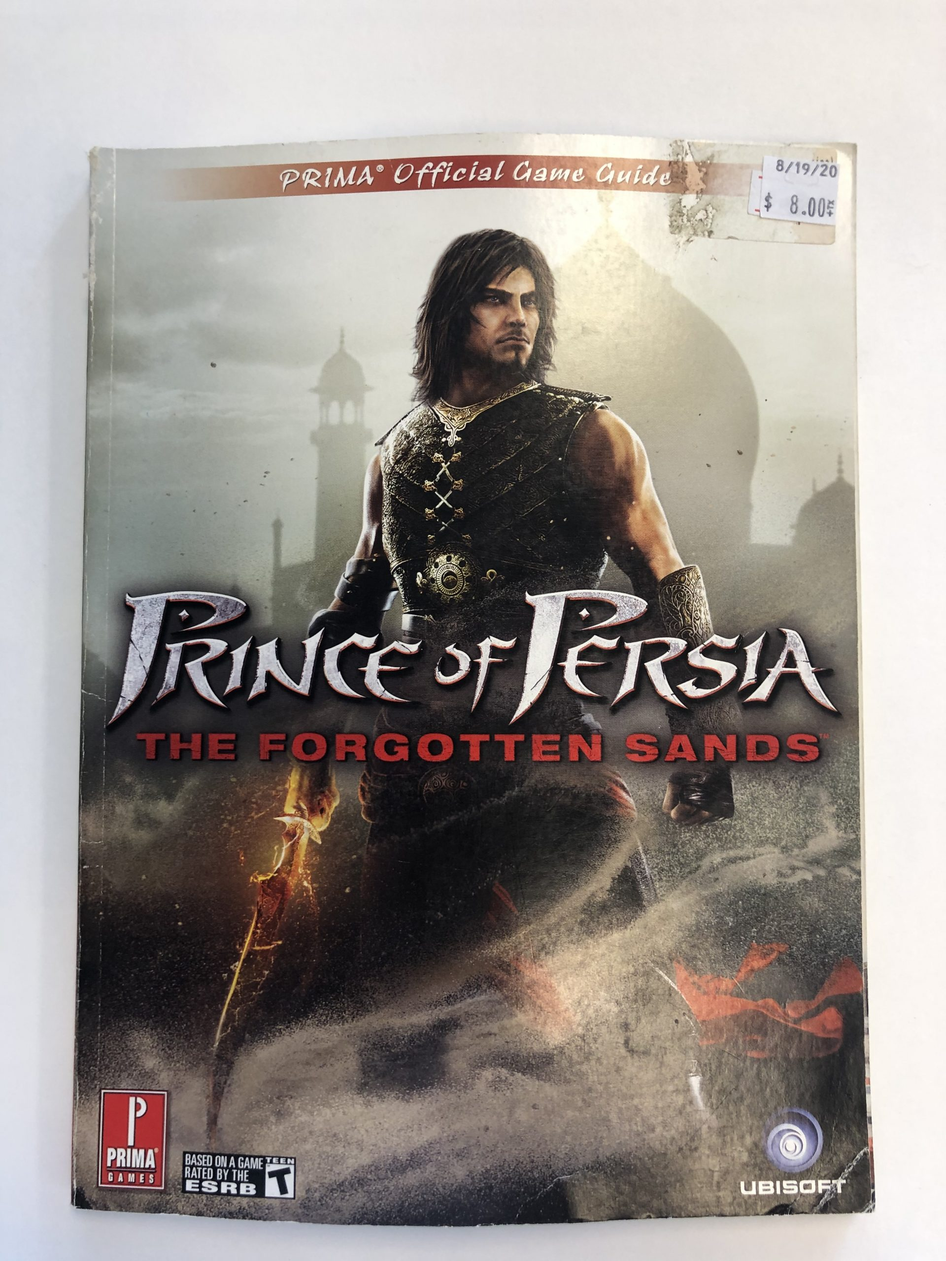 Prince Of Persia Forgotten Sands Guide Book