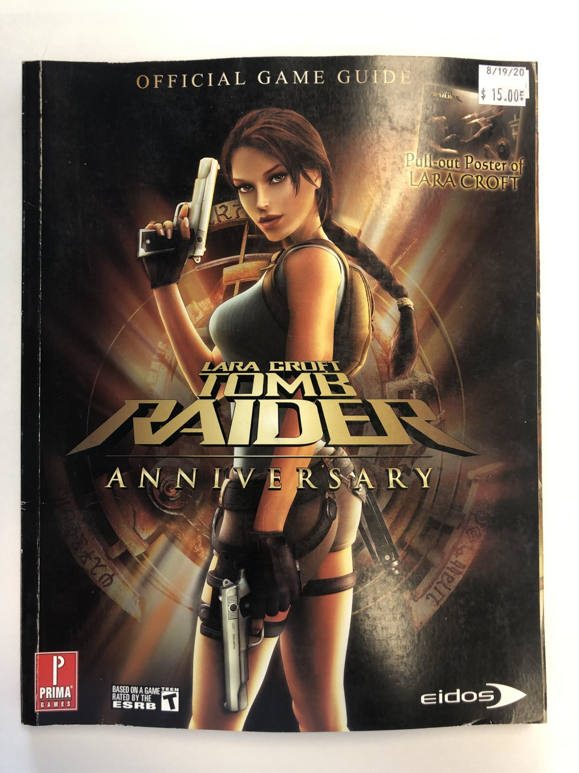 Lara Croft Tomb Raider Anniversary Guide Book