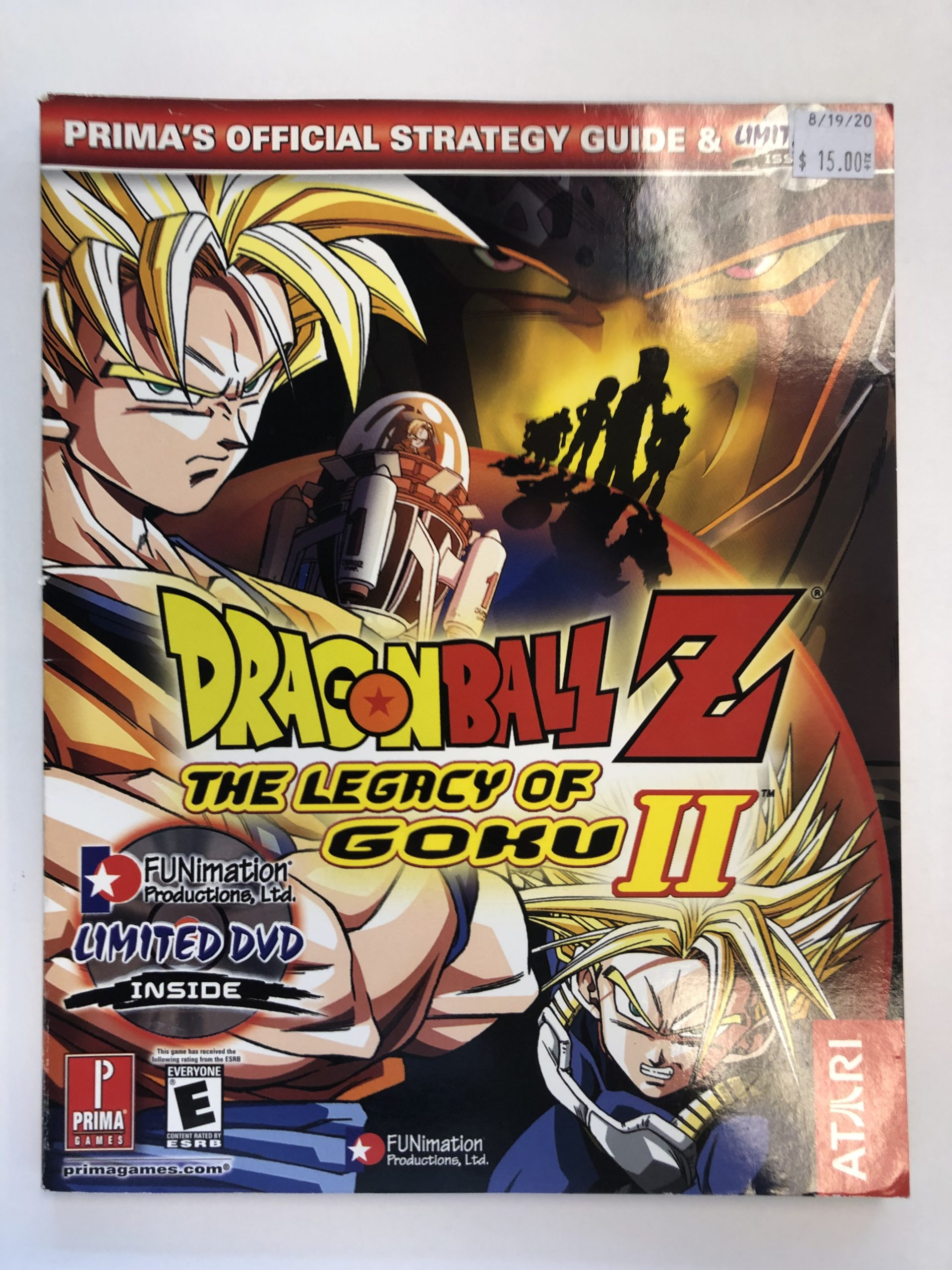 Dragon Ball Z Legacy Of Goku II Guide Book