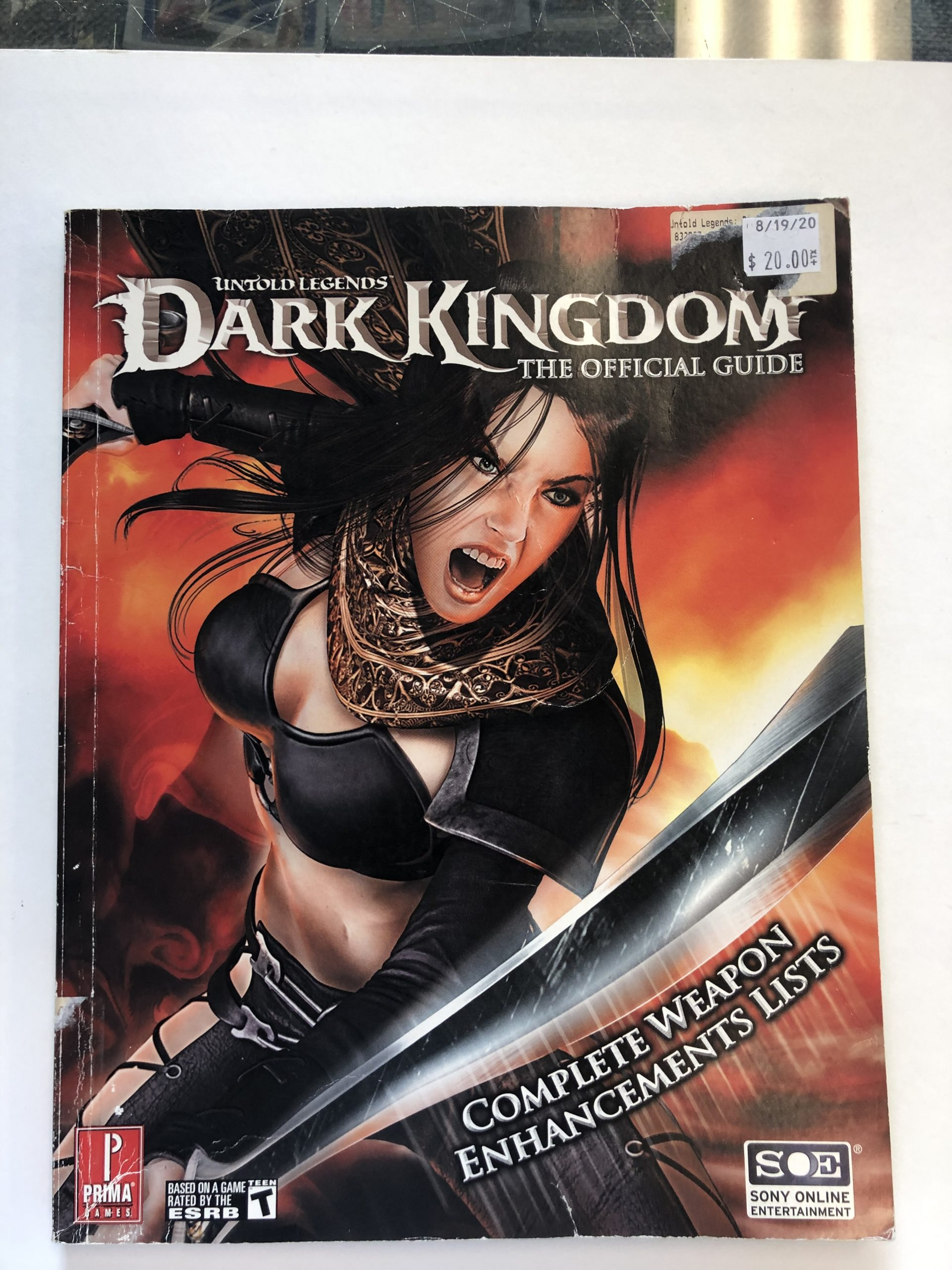 Dark Kingdom Guide Book